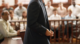 Criminal Defense Attorney in Court